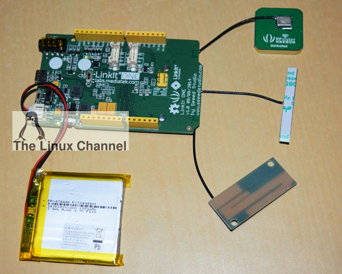 GPS Geo-tracking system using LinkIt ONE board2