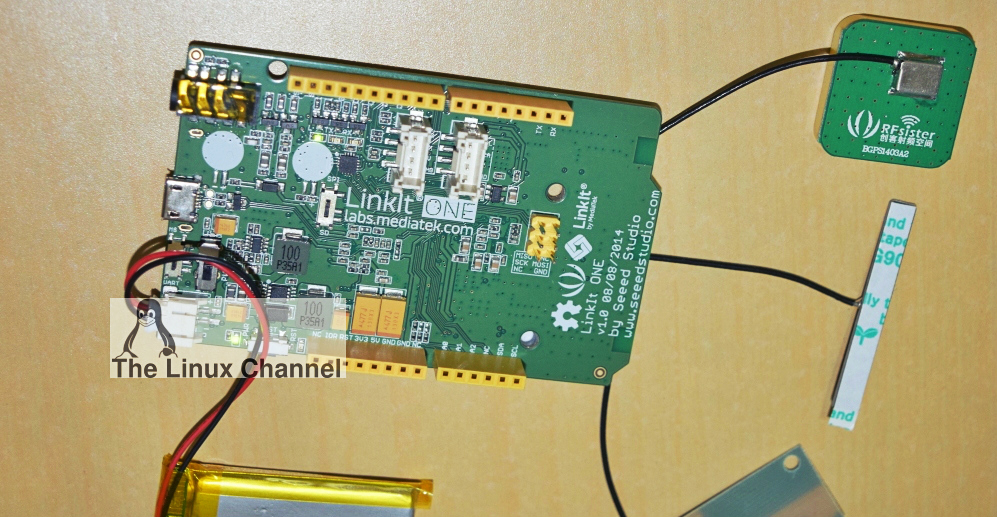 GPS Geo-tracking system using LinkIt ONE board3