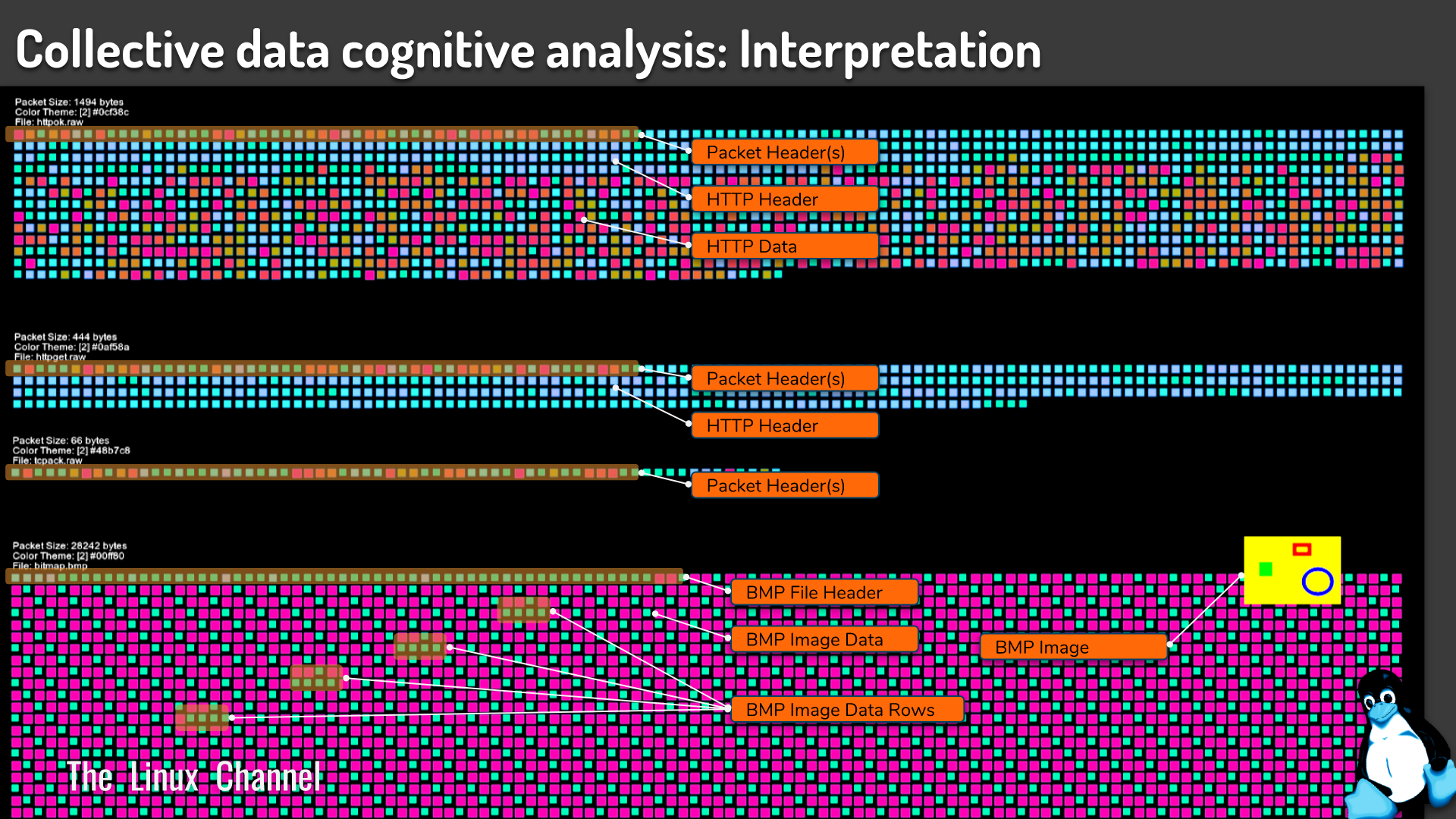 Collective data cognitive analysis Interpretation