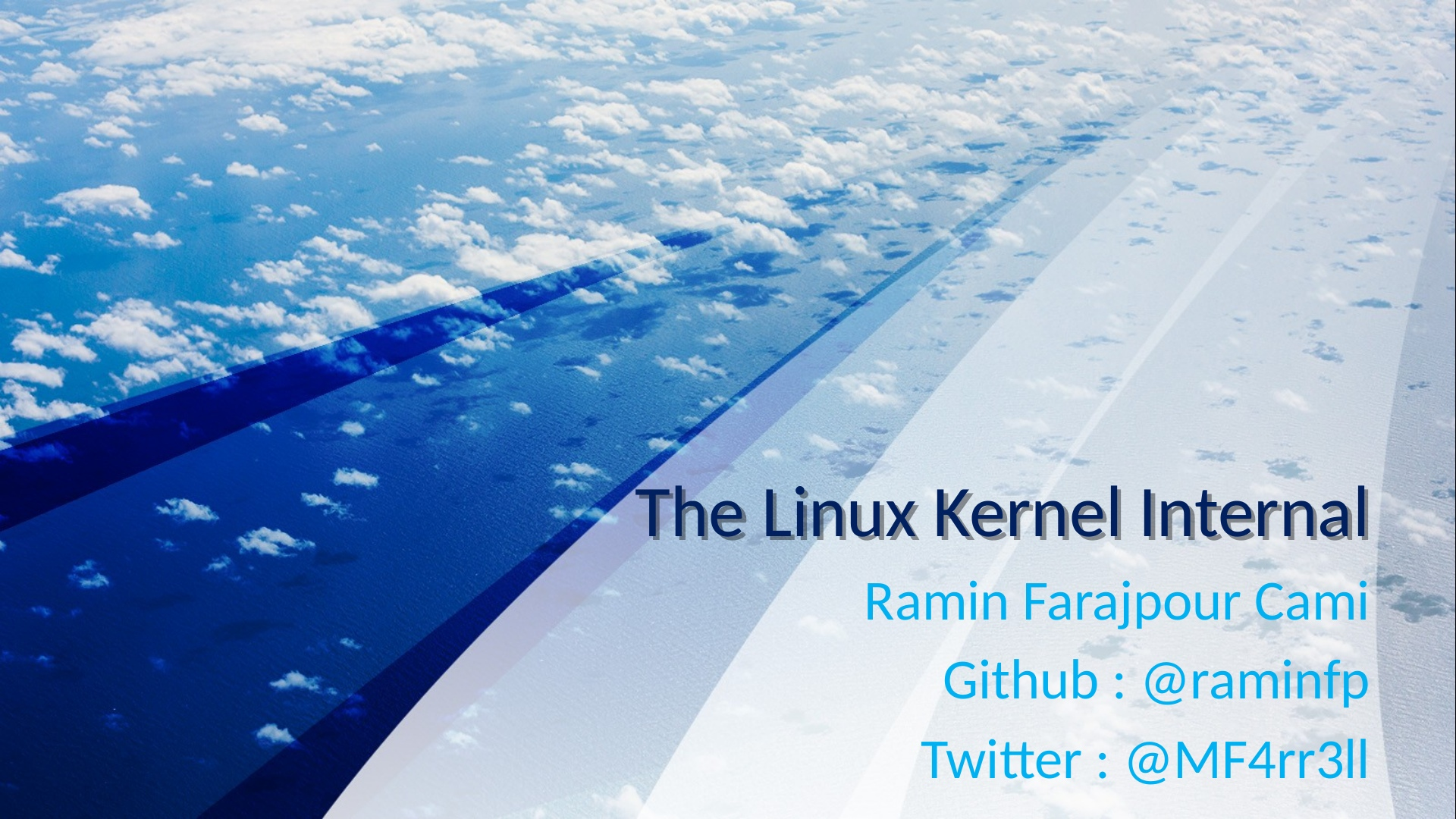 The Linux Kernel Internal