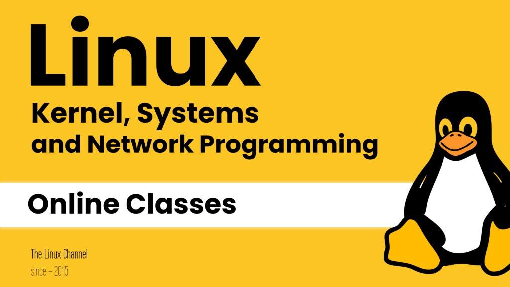 The Linux Channel - Linux Kernel Networking and Device Drivers - Online Classes